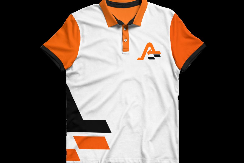 an Front shirt